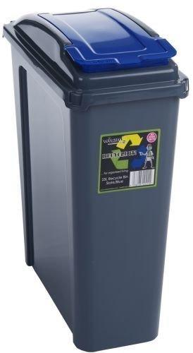 Amazon.com: 25L Slimline Reciclar Cocina Residuos Bin con 25 ...