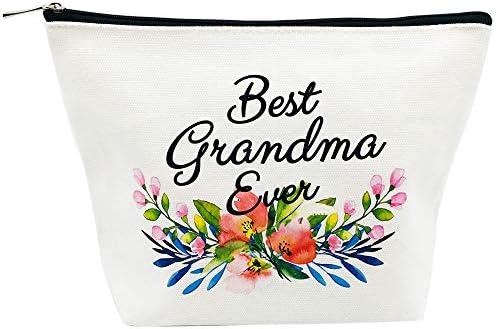 Amazon Com Grandma Gifts Best Grandma Ever Makeup Bag Mother S