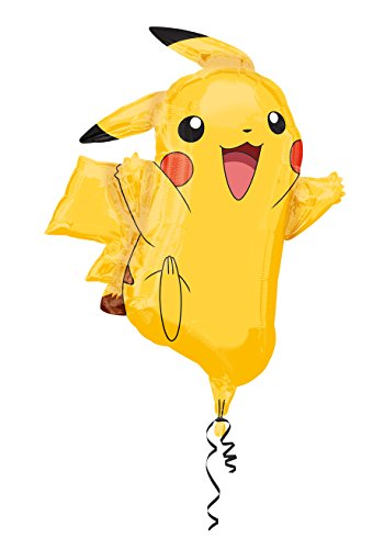Anagram International 2946001 Pikachu Shape Balloon Pack, 31