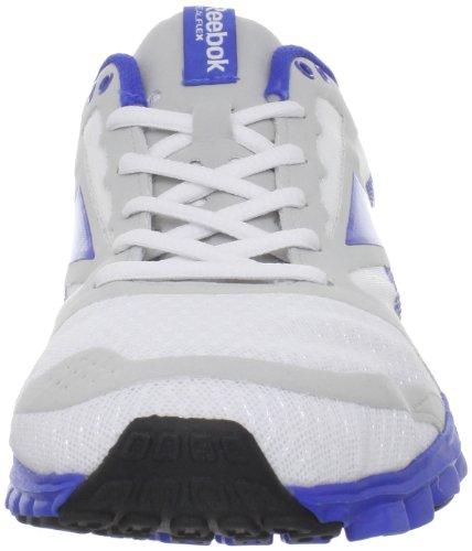 Amazon.com | Reebok Men's Realflex Speed Running Shoe, White/Vital  Blue/Snowy Grey/Black, 9 M US | Running