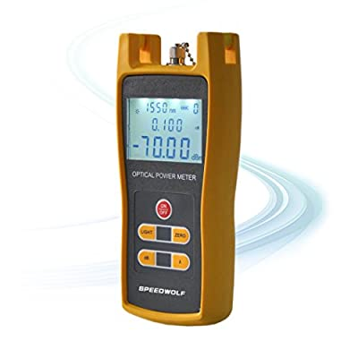 SPEEDWOLF Handheld fiber Optical Power Meter tester,Optical Light Source,OTDR