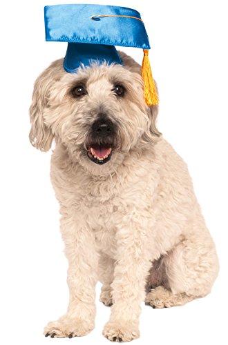 Rubies Costume Blue Graduation Hat Pet Accessory