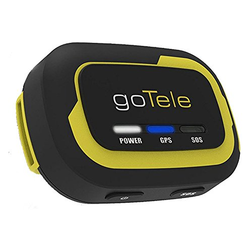 goTele Offline Outdoor Real Time GPS Tracker for Exploration Camping Climbing Skiing and Pets,Max 30 Members GPS location SMS SOS,No SIM card network required (1 Pack)- Need 2pcs to work