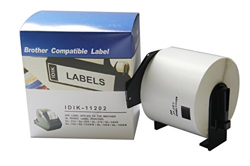 Compatible DK-11202 DK-1202 BROTHER Large Shipping Labels - 62mm X 100mm