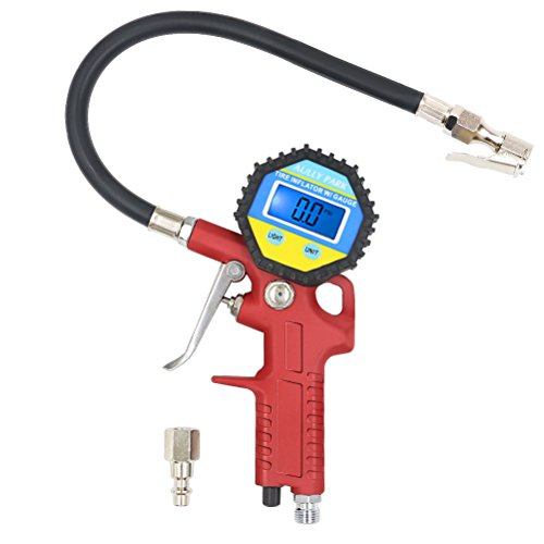 Teflon Nozzle Gasket (AULLY PARK Tire Inflator with Digital Tire Pressure Gauge 0-150 PSI, Flexible Rubber Hose, Straight Lock-On Air Chuck)
