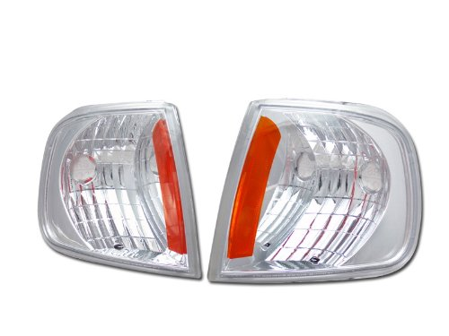 EURO AMBER SIGNAL PARKING CORNER LIGHTS LAMPS K2 97-03 FORD F150 F250 EXPEDITION Velocity Concepts