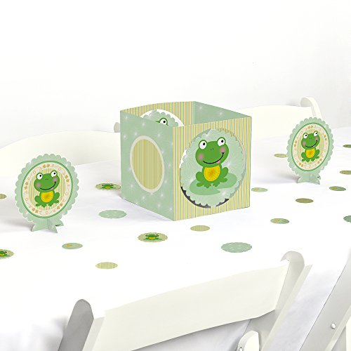 Froggy Frog - Baby Shower or Birthday Party Centerpiece & Table Decoration - Frog Baby Shower