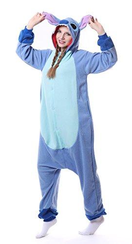 AceChic Animal Pajama Onesie Adult Stitch Cartoon Sleepsuit