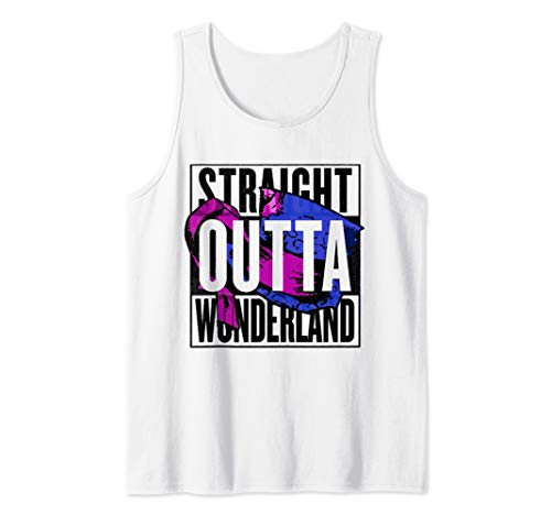 Straight Outta Wonderland - Mad Hatter Hat Tank Top]()