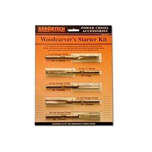 Woodcarvers Starter Kit (5 Piece) (Arbortech Wood Carver compare prices)