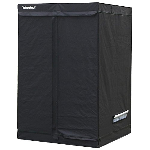 Yaheetech Indoor Grow Tent Hydroponic Non Toxic Growing Room Hut for Plant Growth,47