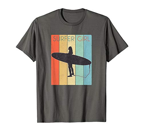 Surfer Girl Surf Shirt/ Surf Girl Throwback T-Shirt