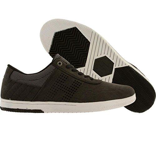 HUF Men's Hufnagel 2 Skateboarding Shoe, Black/Ballistic, 8 M US