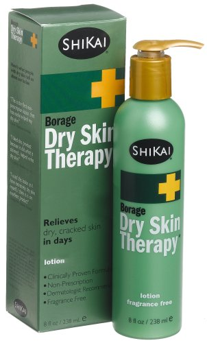 - ShiKai Lotion, Dry Skin Therapy, Borage, 8-Ounces (Pack of 2)