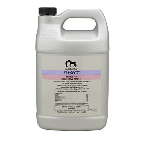 Farnam Equicare Flysect Super-7 Repellent Spray, 1 gallon