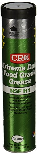 CRC SL35615 Extreme Duty Food Grade Grease, 14 Ounce, Tan, Smooth - Grease Food