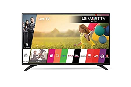 fa1addc933c LG 32LH604V 32 inch 1080p Full HD Smart TV WebOS (2016 Model) - Black   Amazon.co.uk  TV