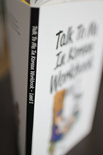 Talk To Me In Korean Workbook Level 1(Downloadable Audio Files ...
