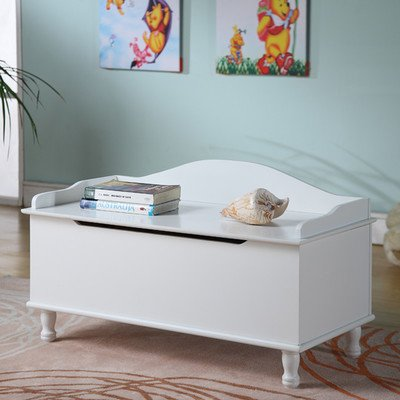 Storage Bench with Locking Hinged (2 Sided Cherry Table)