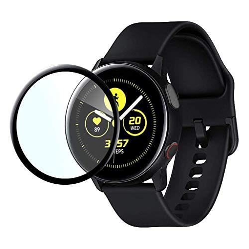 LILYTING schutzfolien Kompatibel für Samsung Galaxy Watch Active2,Ultradünne Anti-Fingerpint transparent Schutzfolie…