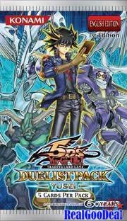 Yu Gi Oh Yusei Duelist Pack - YuGiOh Duelist Pack 8: Yusei Fudo Unlimited Edition Booster Pack