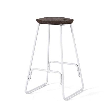 Strange Amazon Com Wxl Bar Stool Wrought Iron Modern Minimalist Bar Ibusinesslaw Wood Chair Design Ideas Ibusinesslaworg
