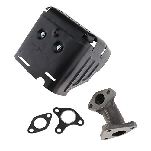 Create Idea Muffler Exhaust Assembly with Manifold Gasket Replacement For Car Engine Motor: Amazon.co.uk: Kitchen & Home