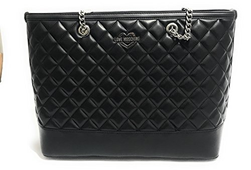 Love Moschino Superquilted Shopper schwarz