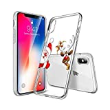 Happon iPhone X iPhone Xs Case, Cellphone Case Cellphone Case Protective Armor Defender Anti-Slip Shock-Proof Scratch Resistant Cellphone Case Bumper Back Case Cover for iPhone X iPhone Xs (Style 1)