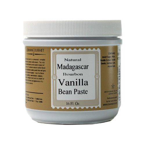 Natural Madagascar Vanilla Bean Paste 16 ounces by LorAnn Oils