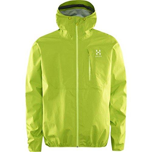 Haglöfs Haglofs Gram Comp Gore-Tex chaqueta de running para mujer, color Glow Green, tamaño medium: Amazon.es: Ropa y accesorios