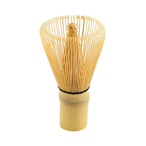 JapanBargain 2200 Matcha Whisk, 2-3/8in Dia x 4-1/4in H, Yellow