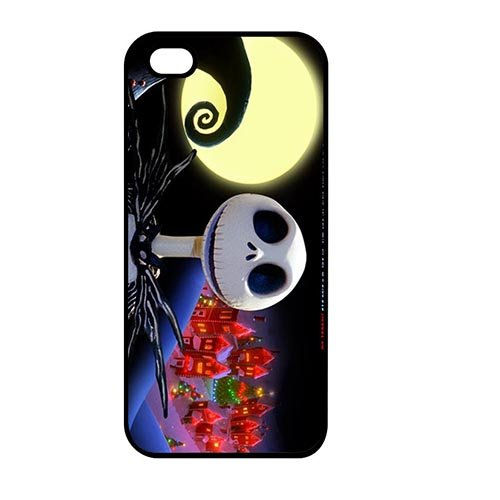 Coque,Custom Charming the Nightmare Before Christmas Jack And Sally Hard Phone Cover Case Covers for Coque iphone SE/Coque iphone 5/Coque iphone 5S