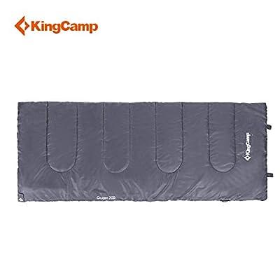 Kingcamp® Oxygen Sleeping Bag - Lightweight 2 Season Sleeping Bag for Camping, Hiking, Travelling