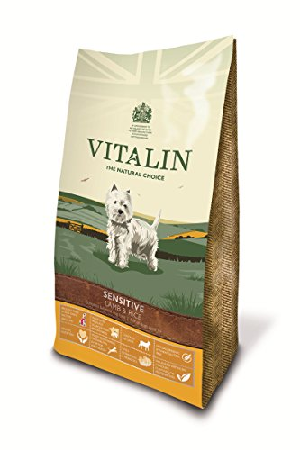 Vitalin Sensitive Lamb & Rice Dry Dog Food 15kg