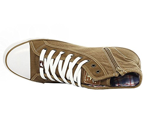 Sneaker Sand 44 Braun 4058504 Herren Mustang IwxqEOB