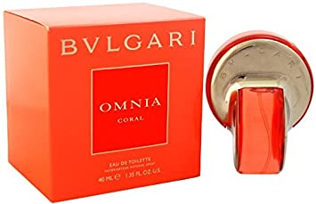 Amazoncom Bvlgari Womens Omnia Coral Eau De Toilette Spray Red