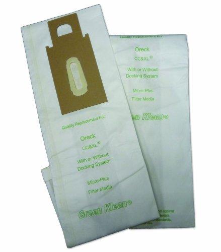 Green Klean GK-OR-XL Oreck Style CC and XL Micron Bag Rep...
