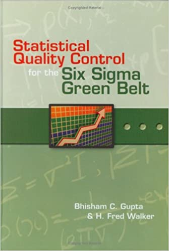 Amazon com: Statistical Quality Control for the Six Sigma Green Belt