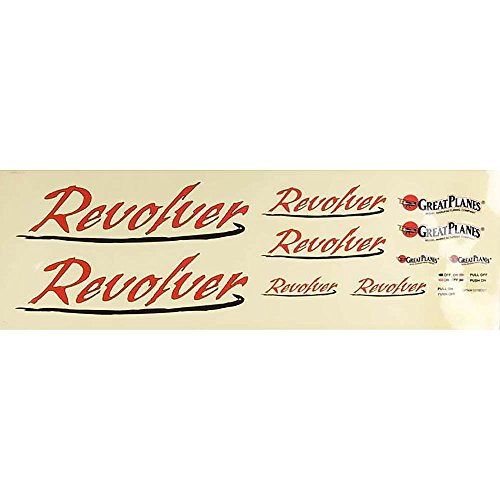 Great Planes Decal Sheet Revolver .46-.70 ARF Vehicle Part