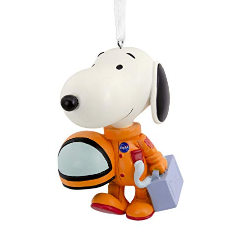 (Hallmark Christmas Ornaments, Peanuts NASA Astronaut Snoopy Ornament)