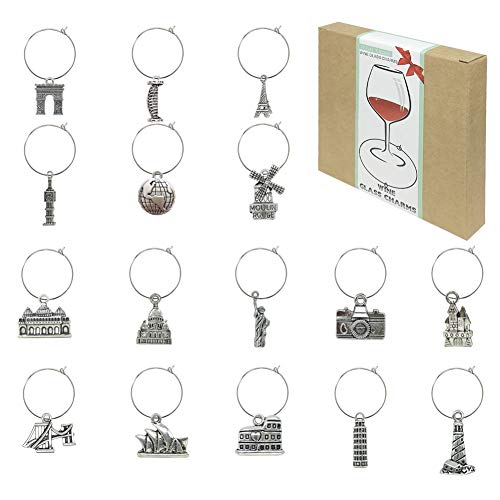 Wine Glass Charms Markers