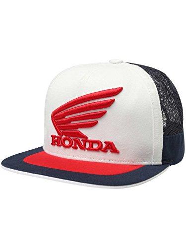 Fox Racing Honda Snapback Hat-Navy/White