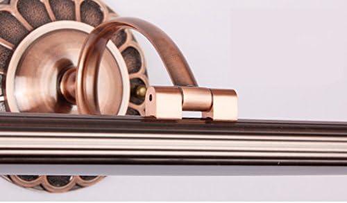 . Spiegel-Scheinwerfer-antikes geführtes Make-up beleuchtet Badezimmer-Badezimmer-ankleidendes Licht Anti-fog wasserdichte Wand-Lampe (Color : Qinggu)