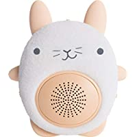 SoundBub, White Noise Machine and Bluetooth Speaker | Portable and Rechargeable On-the-Go Infant Shusher & Baby Sleep Aid Sound Soother by WavHello - Bella the Bunny, White