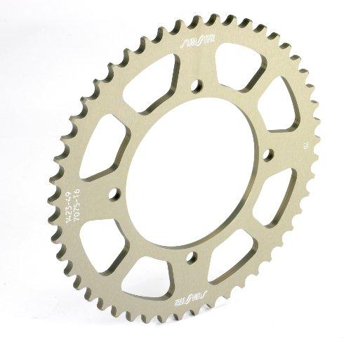 Sunstar 5-145545 Works Triplestar 45-Teeth 420 Chain Size Rear Aluminum Sprocket