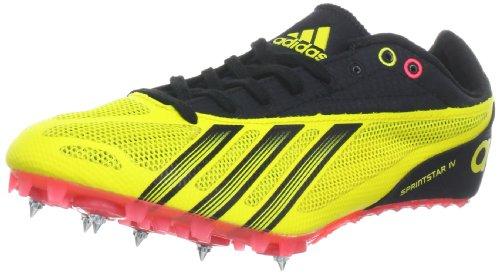 adidas Performance Sprint Star 4 M Q22637 Herren Laufschuhe Gelb (Vivid Yellow S13 / Black 1 / Pop)