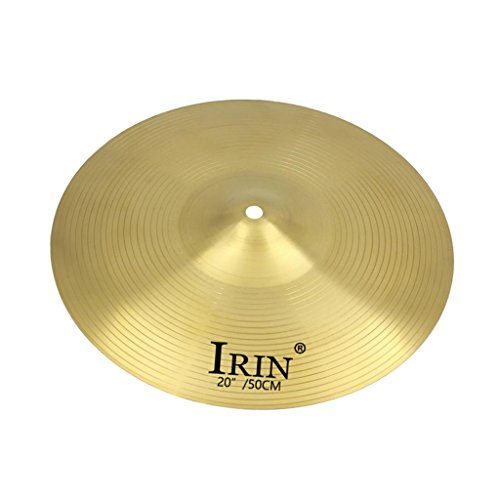 MagiDeal Finest Replacement Alloy Splash Crash Cymbal for Drummer DIY Stage Accessory - 20inch - 20' Ride Cymbal