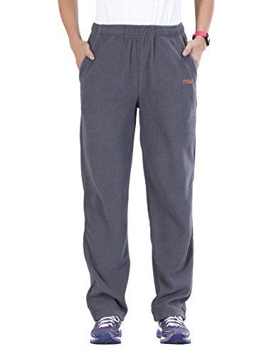 Nonwe Women's Casual Easy-Care Fleece Cargo Pants 700400M-30