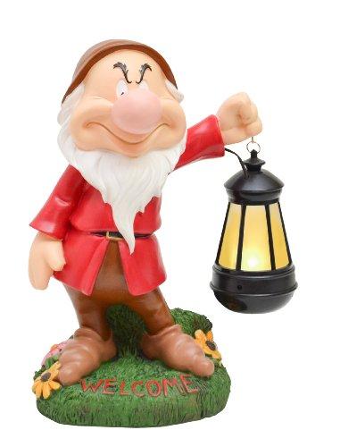 Woods International Disney Garden LED Statue, 12-Inch,